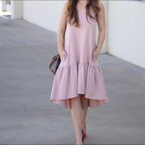 Leith Flounce Midi Dress